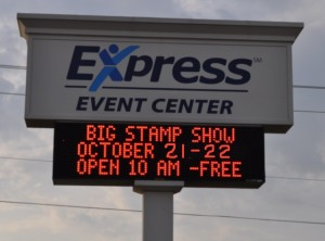 Express Event Center Sign